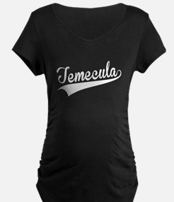 Temecula, Retro, Maternity T-Shirt