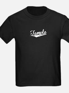 Temple, Retro, T-Shirt