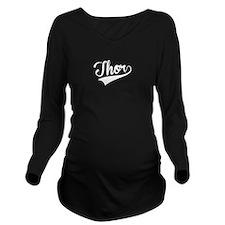 Thor, Retro, Long Sleeve Maternity T-Shirt