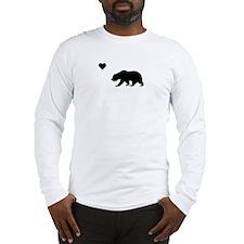 California Love Flag (black)) Long Sleeve T-Shirt