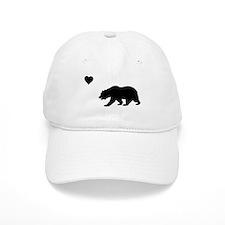 California Love Flag (black)) Baseball Cap