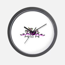HAPPY MOTHERS DAY MOM Wall Clock