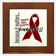Sickle Cell Anemia Awareness1 Framed Tile