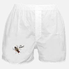 GO AWAY! Boxer Shorts