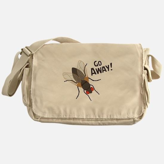 GO AWAY! Messenger Bag