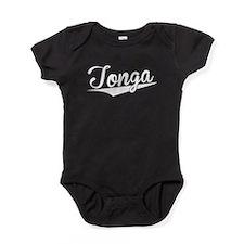 Tonga, Retro, Baby Bodysuit