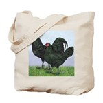 La Fleche Rooster and Hen Tote Bag