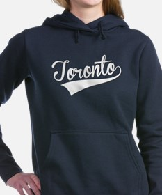 Toronto, Retro, Women's Hooded Sweatshirt