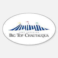 Big Top Logowear Oval Decal