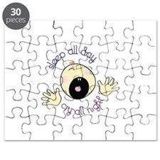 Sleep All Day Cry All Night Puzzle