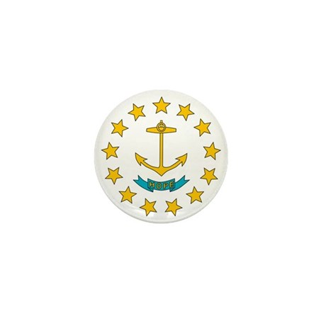 Rhode Island Mini Button (100 pack)