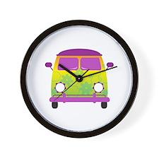 Groovy Van Wall Clock