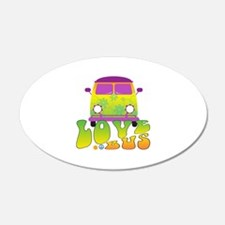 Love Bus Wall Decal