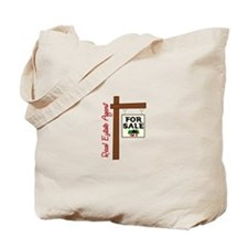 Real Estate Agent For Slae Tote Bag