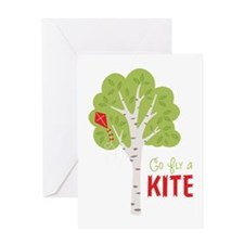 Go FlY a KITE Greeting Cards