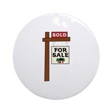 SOLD FOR SALE Ornament (Round)