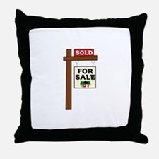 SOLD FOR SALE Throw Pillow