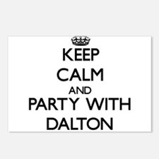 Keep calm and Party with Dalton Postcards (Package