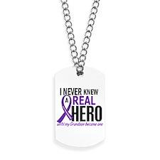 Cystic Fibrosis Real Hero 2 Dog Tags
