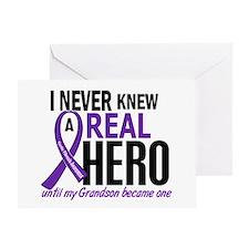 Cystic Fibrosis Real Hero 2 Greeting Card