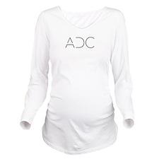 ADC Logo Long Sleeve Maternity T-Shirt