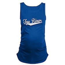 Tye River, Retro, Maternity Tank Top