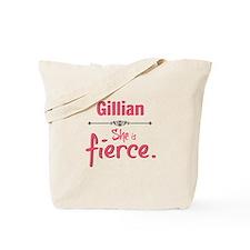 Gillian is fierce Tote Bag