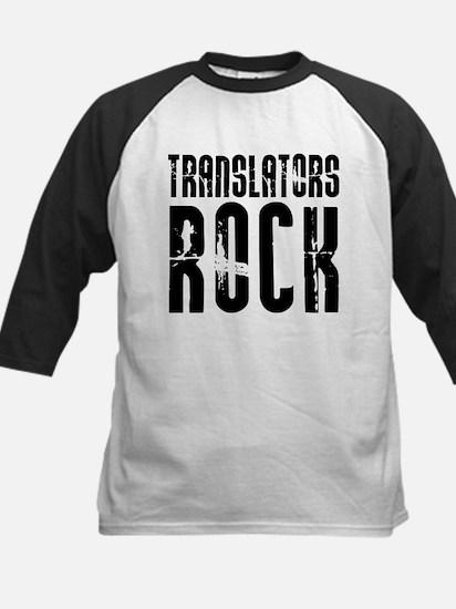 Translators Rock Kids Baseball Jersey