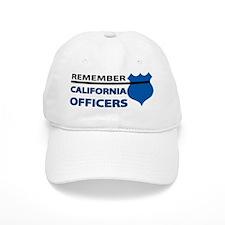 Remember California Officers Baseball Cap