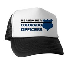 Remember Colorado Officers Trucker Hat