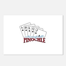 is this enough-meld PINOCHLE Postcards (Package of