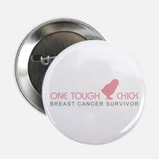 One Tough Chick Button