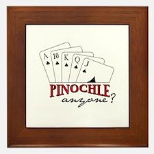 PINOCHLE amzone? Framed Tile