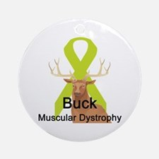 Muscular Dystrophy Ornament (Round)