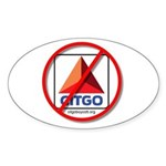 Boycott Citgo Oval Sticker