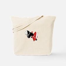 Spade and Diamond Tote Bag