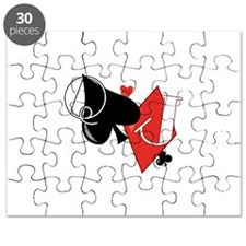 Spade and Diamond Puzzle