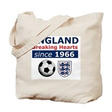 England.  Breaking Hearts since 1966 Tote Bag
