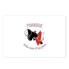 PINOCHLE is the name of game Postcards (Package of