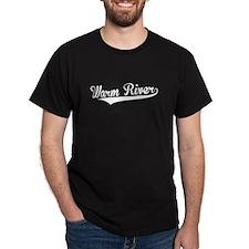 Warm River, Retro, T-Shirt