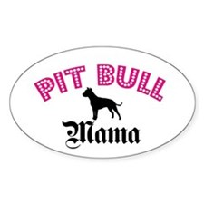 Pit Mama Oval Decal