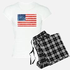 American Grungy flag Pajamas