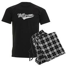 Watterson, Retro, Pajamas