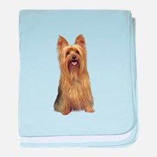 Silky Terrier (B) baby blanket