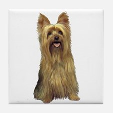 Silky Terrier (B) Tile Coaster