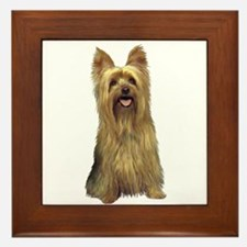Silky Terrier (B) Framed Tile