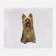 Silky Terrier (B) Throw Blanket