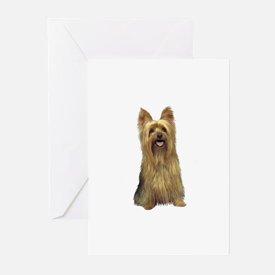 Silky Terrier (B) Greeting Cards (Pk of 20)