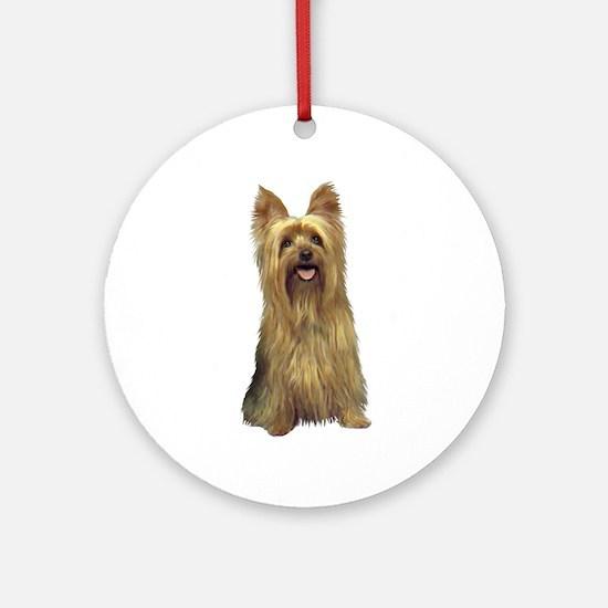 Silky Terrier (B) Ornament (Round)