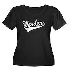 Werder, Retro, Plus Size T-Shirt